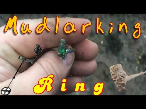 Mudlarking uk at an eroded embankment I still can't believe the ring I found 2018