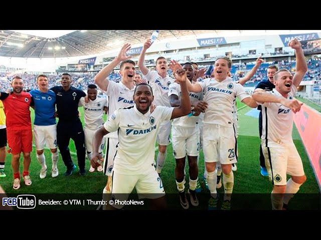 2015-2016 - Jupiler Pro League - PlayOff 1 - 07. AA Gent - Club Brugge 1-4