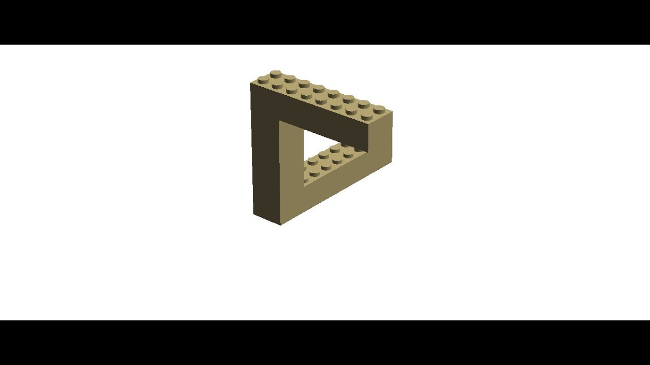 optische t uschungen und illusionen aus lego youtube. Black Bedroom Furniture Sets. Home Design Ideas