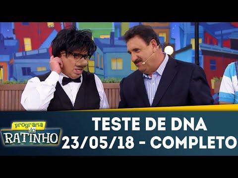 Teste De DNA - Completo | Programa Do Ratinho (23/05/18)