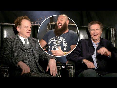 Braun Strowman interviews Will Ferrell & John C. Reilly about their new movie,