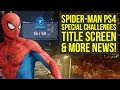 Spider Man PS4 Gameplay HAS SPECIAL CHALLENGES That Reward Good Players & More Info (Spider Man PS4)