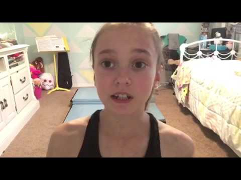 How to do a back walkover | Krazy Kayla | 2017 |