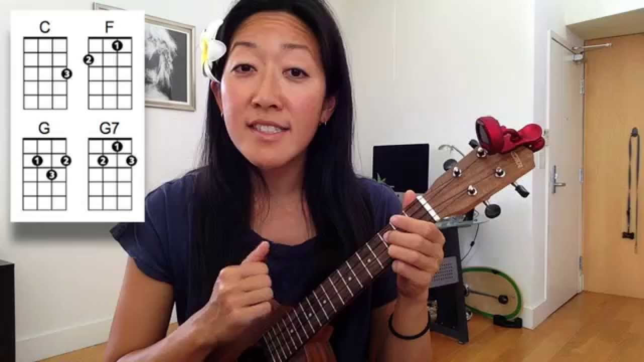 I kissed a girl ukulele chords
