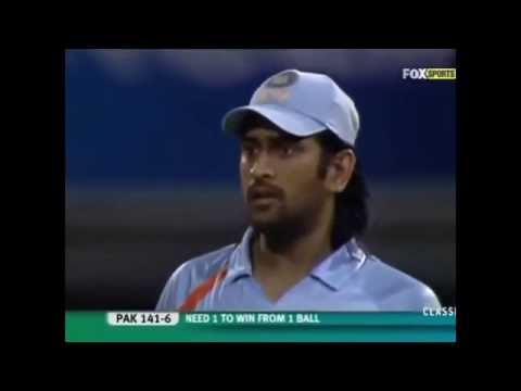 India vs Pakistan T20 World Cup 2007 tied match Video