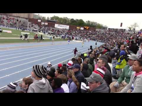 McCombs Middle School Drake Relays 2016 4X100