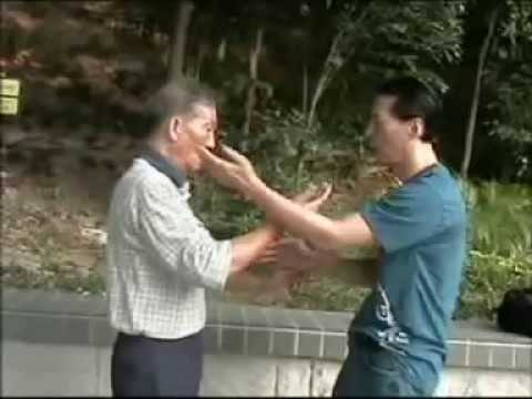 Wing Chun Chi Sao - Ip Ching and Sam Kwok