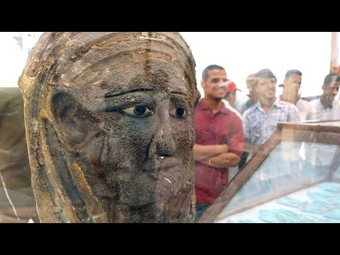 New mummies uncovered in Egypt