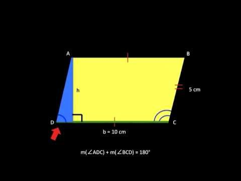 How to find the area of a parallelogram youtube ccuart Gallery