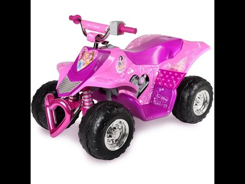 disney princess toddler quad ride on quad toy for kids youtube. Black Bedroom Furniture Sets. Home Design Ideas