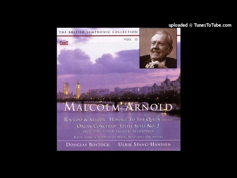 Malcolm Arnold : Concerto for organ and orchestra Op. 47 (1954)