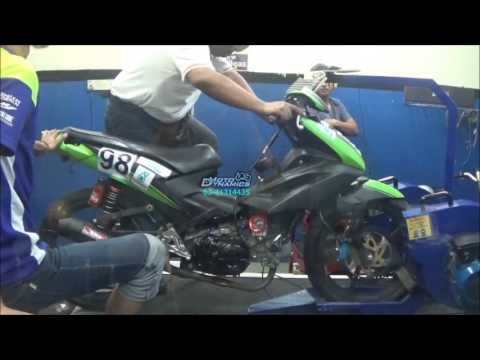 Honda Dash Racing Bike Setup Dyno Tuning - Motodynamics Technology Malaysia