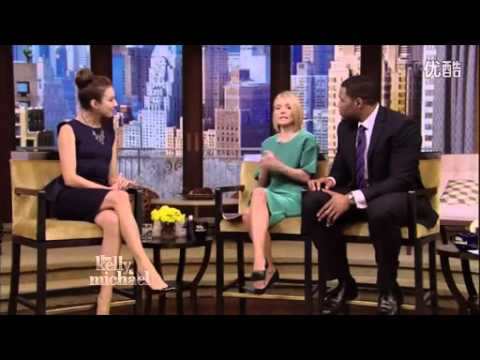 Troian Bellisario on Live with Kelly & Michael - YouTube
