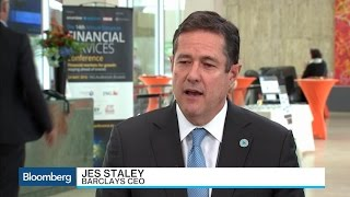 Barclays CEO Staley on Performance, Economy, Markets