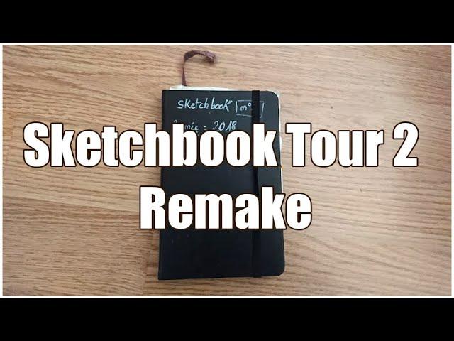 SKETCHBOOK TOUR 2 - Mon premier carnet de croquis (part 2)