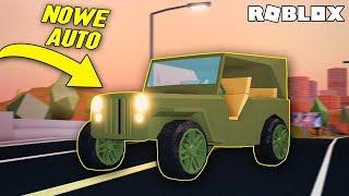 NOWE WOJSKOWE AUTO W JAILBREAK! I ROBLOX #340