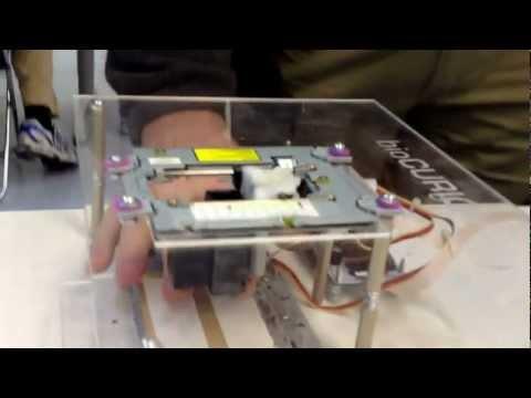 0 - BioCurious: Eigenbau Bioprinter aus altem inkjet Drucker erstellt