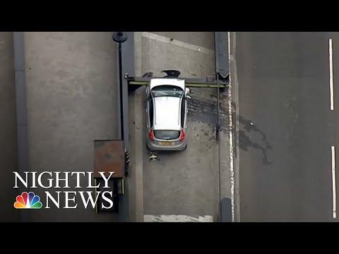 Car Crashes Near Parliament In London 'Terrorist Incident' | NBC Nightly News