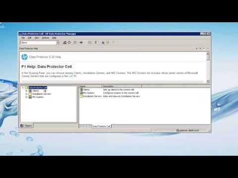 HP Data Protector Quick Tip 1.2: Context-Sensitive Help