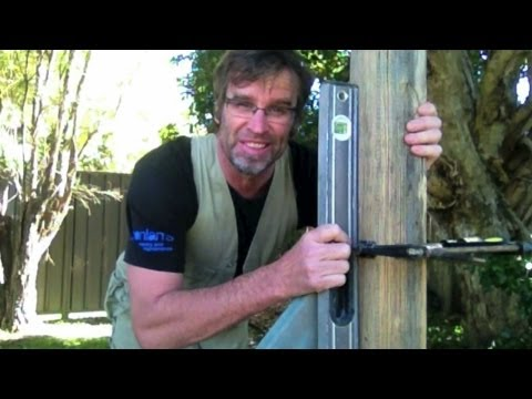 How to Set a Fence Post  FAST!