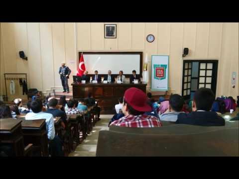 Mehmet Ata Sarkatipoğlu - İstanbul Üniversitesi Hukuk Fakültesi Konuşması