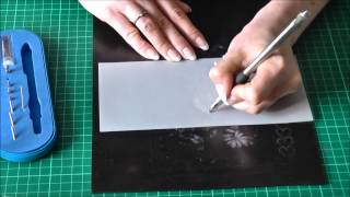 An Introduction into Parchment Craft -  Embossing Part I