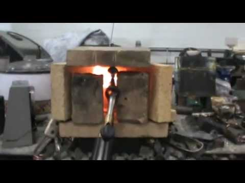 How to make a quick furnace with fire bricks