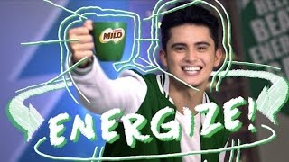 James Reid shows how to #BeatEnergyGap with MILO Champ Moves | Nestlé PH