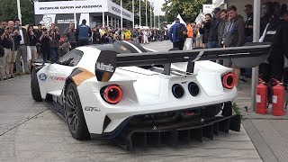 2020 Ford GT MkII Track-Only Car Sound - Accelerations, Start Up & Fly Bys!