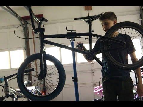 Mini BMX bike clean up