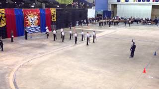 Marmion Academy Flannigan Rifles Armed X Squad, Nationals 2014 (1st place)