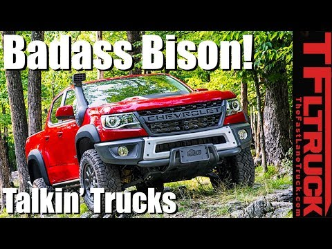 Here's Why the Colorado ZR2 Bison is Chevy's Most Off-Road Worthy Truck - Talkin' Trucks #13