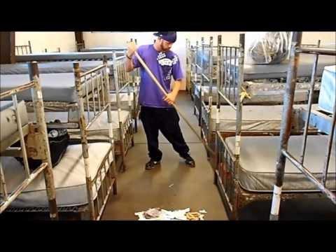 sneak peek at homeless shelter life in America