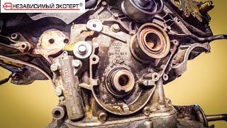 А почему мотор легко крутится? три придурка и AUDI Эпизод два!