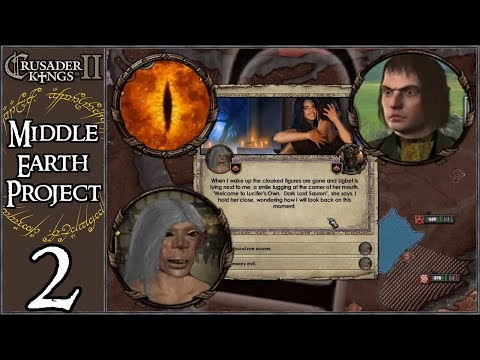 Crusader Kings 2: Intro to Middle Earth Project #2 - Party Lord Sauron
