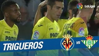 Video Gol Pertandingan Villarreal vs Real Betis