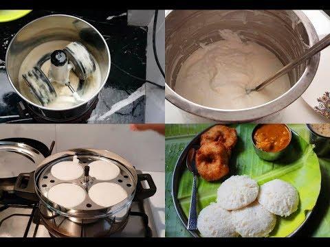 how-to-make-soft-idli---idli-batter-recipe---kushboo-idli-recipe---yummy-tummy-cook-with-me