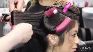 One of Guy Tang's most viewed videos: Permanent Beach Waves Tutorial
