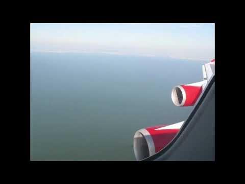 Virgin Atlantic 747 Landing Heathrow to San Francisco