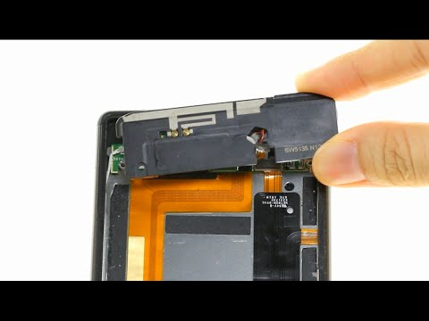 Sony Xperia M4 Aqua Loudspeaker Repair Guide - YouTube