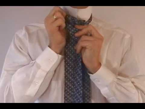 How to tie a tie half windsor easy video instruction youtube youtube premium ccuart Gallery