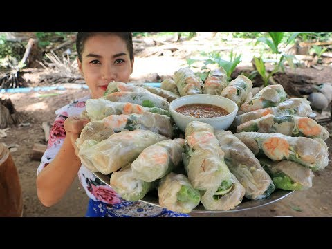 Yummy cooking Spring Roll recipe – Cooking skill