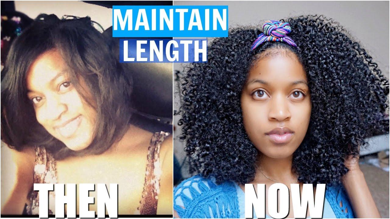Retain Length Natural Hair