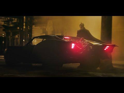 THE BATMAN (2021) Batmobile Official First Look – Robert Pattinson, Matt Reeves Movie