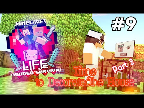 Time to Decorate the House Part 2 | Minecraft Life #9