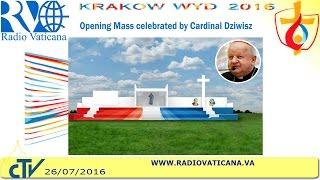 Mass opening World Youth Day