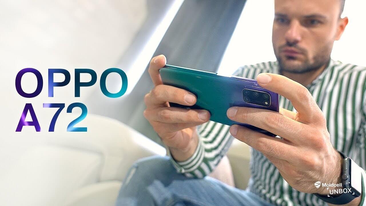 Oppo A72   Moldcell Unbox (review în română)
