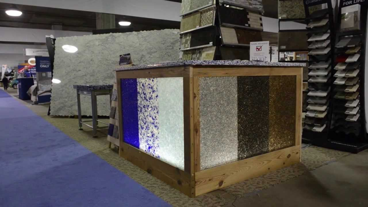 Ripple Glass Product Creates Counter Tops From Recycled