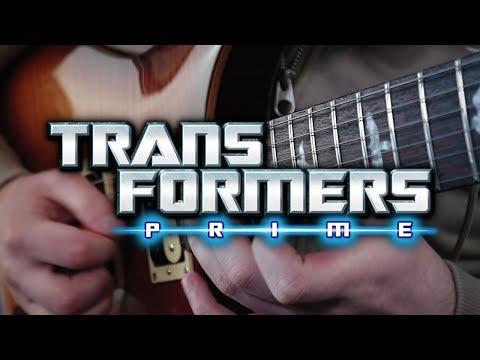 Transformers Prime Theme on Guitar