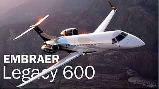 Legacy 600 | The first Embraer business jet